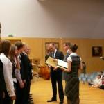 Galeria – wręczenie stypendiów Marszałka Województwa Lubuskiego (2009r)