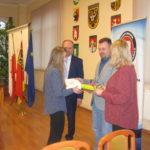 Aleksandra Stankiewicz odbiera nagrodę.